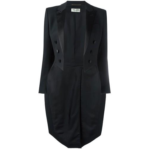 SAINT LAURENT Long Length Tuxedo Blazer