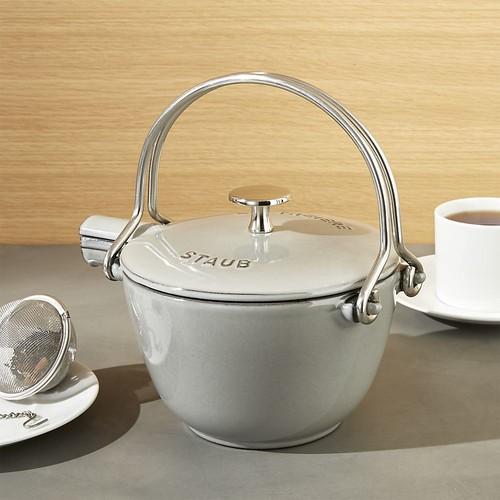 Staub  Grey Tea Kettle