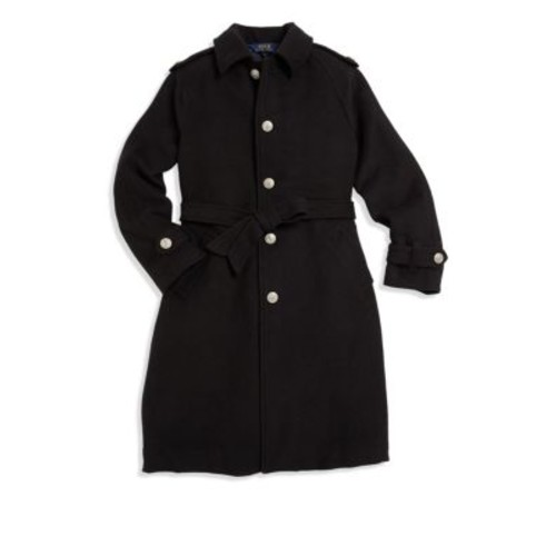 RALPH LAUREN Girl'S Single-Breasted Trench Coat
