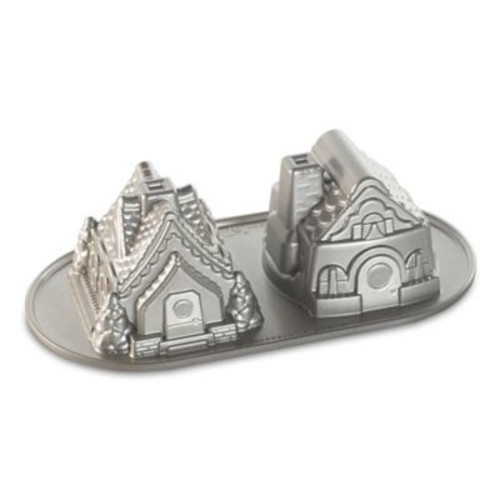 Nordic Ware Gingerbread House Duet Nonstick Pan
