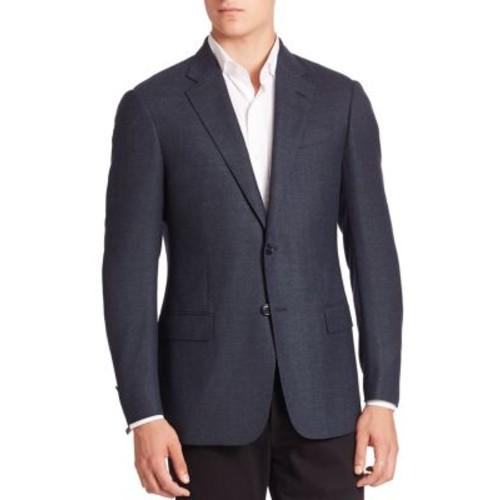 ARMANI COLLEZIONI Two-Button Front Wool Blazer