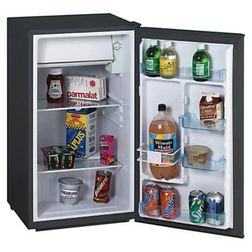 Avanti RM3316B 3.3CF Chiller Refrigerator - 3.30 ft - Manual Defrost - Reversible - 3.30 ft Net Refrigerator Capacity - Black