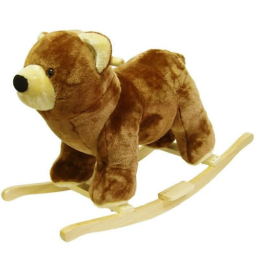 HAPPY TRAILST Bear Plush Rocking Animal