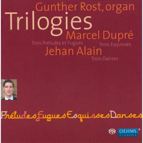 Trilogies: Organ Works (Hybr) - CD