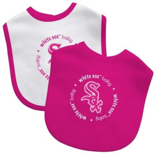 MLB Baby Fanatic 2pk Bibs - Pink
