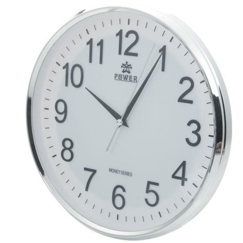 HD WiFi Spy Wall Clock Camera DVR with Motion Detection White