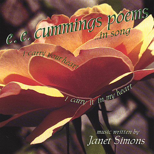 E.E. Cummings Poems...In Song [CD]
