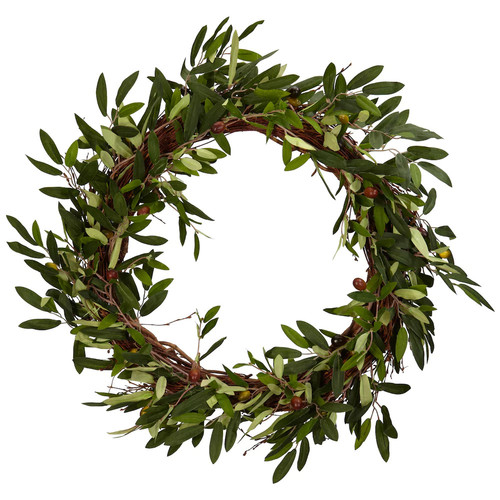nearly natural Olive Leaf Wreath