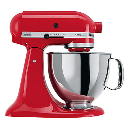 KitchenAid Artisan Series 5 qt Tilt-Head Stand Mixer, Red
