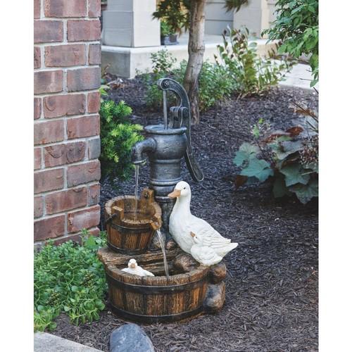 Best Garden Duck Fountain - WXF03873