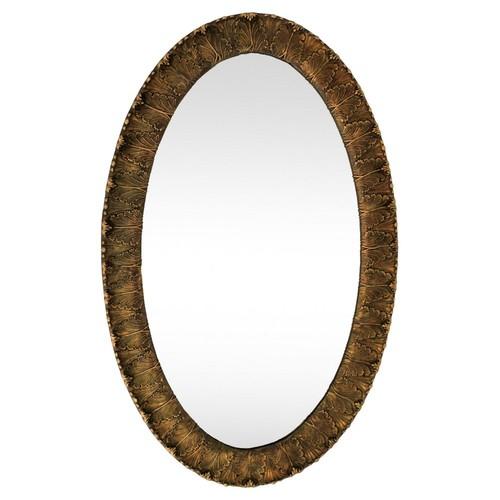 Antique Gilded Acanthus Leaf Mirror