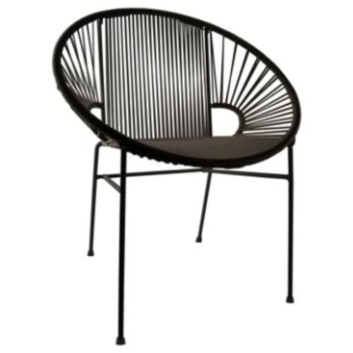 Innit Designs Concha Chair [Frame Finish : Black Finish]