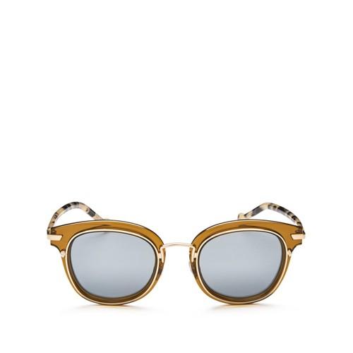 DIOR Origins 2 Mirrored Square Sunglasses, 48Mm