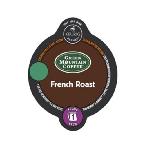 Keurig K-Carafe Pack 8-Count Green Mountain Coffee French Roast Coffee