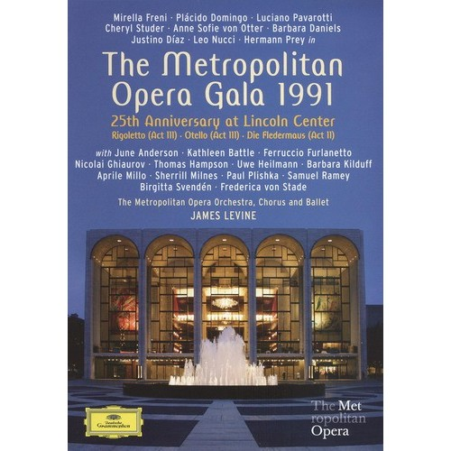 Metropolitan Opera Gala 1991: 25th Anniversary at Lincoln Center [DVD] [Eng/Fre/Ger/Spa] [1991]