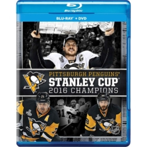 2016 NHL Stanley Cup Champions DVD/Blu-Ray Combo