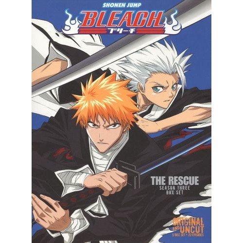 Bleach Uncut Box Set: Season 3 - The Rescue [5 Discs] [DVD]
