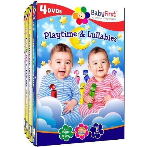 BabyFirst: Playtime & Lullabies [4 Discs] [DVD]