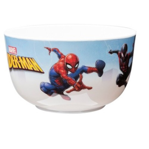 Zak Marvel Spider-Man Melamine Bowl 6oz Red