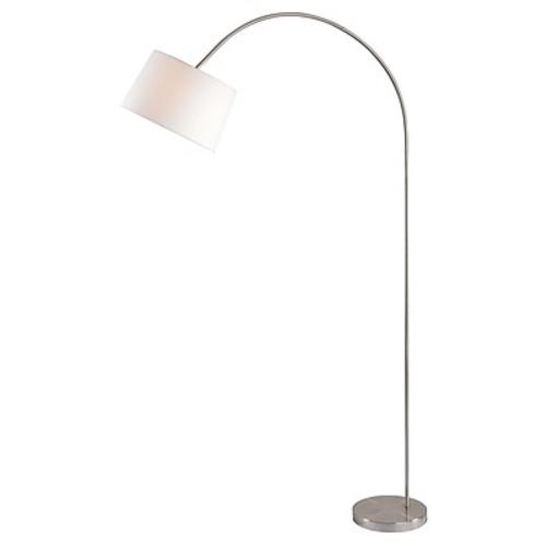 Kenroy Home Incandescent Floor Lamp Brushed Steel Finish (32921BS)
