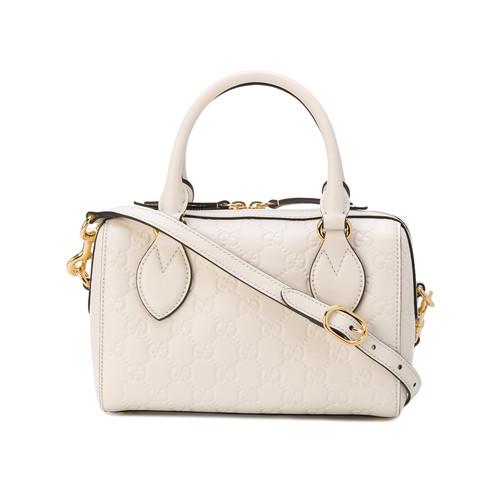 small Soft Gucci Signature top handle bag