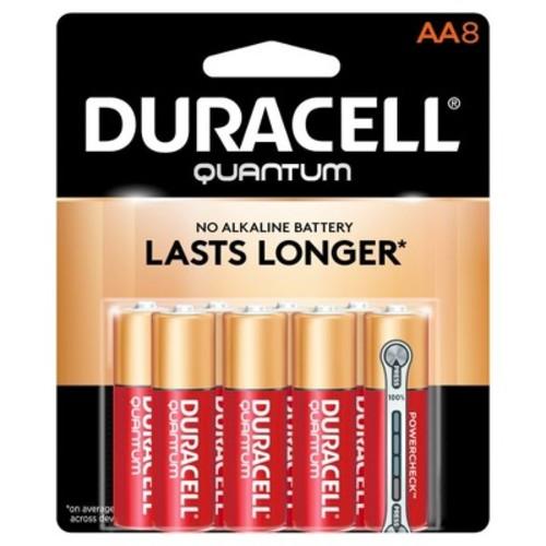 Duracell Quantum Alkaline AA Battery (8-Pack)