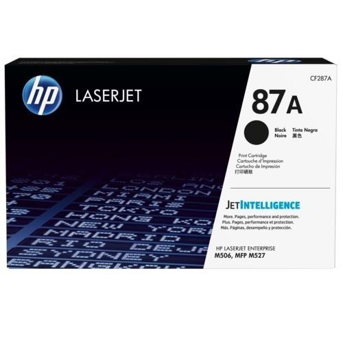 HP Inc. 87A Black Original LaserJet Toner Cartridge (CF287A)