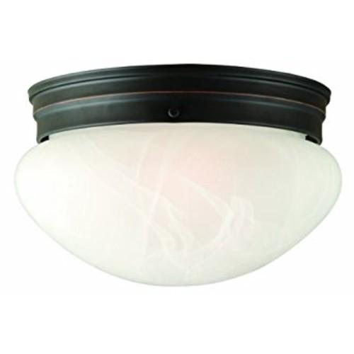 Design House 514539 Millbridge 2 Light Ceiling Light, Oil Rubbed Bronze [Oil-Rubbed Bronze, 9.25