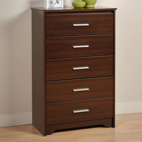Prepac Coal Harbor 5-Drawer Espresso Chest