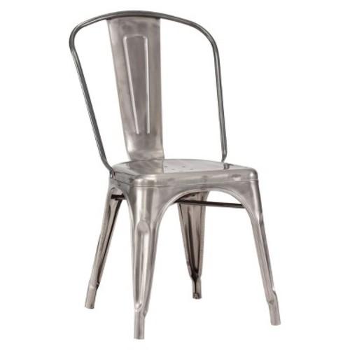 Zuo Elio Dining Chair, Gunmetal (Set of 2)