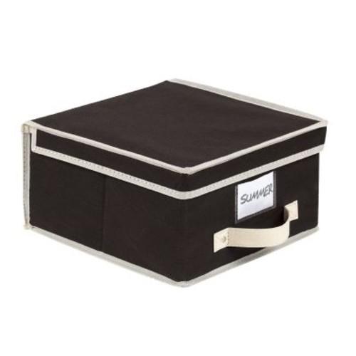 Simplify Medium Size Collapsible Non Woven Storage Box