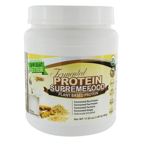 Organic Fermented Protein Supremefood Vanilla - 17.03 oz.