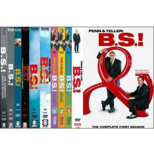 Penn & Teller: Bullshit! - Seasons 1-8 [16 Discs] [DVD]