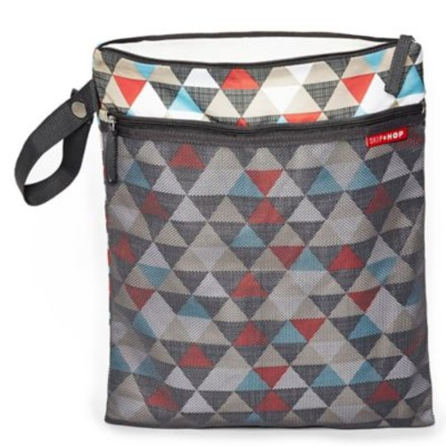 SKIP*HOP Triangles Grab & Go Wet/Dry Bag in Multicolor