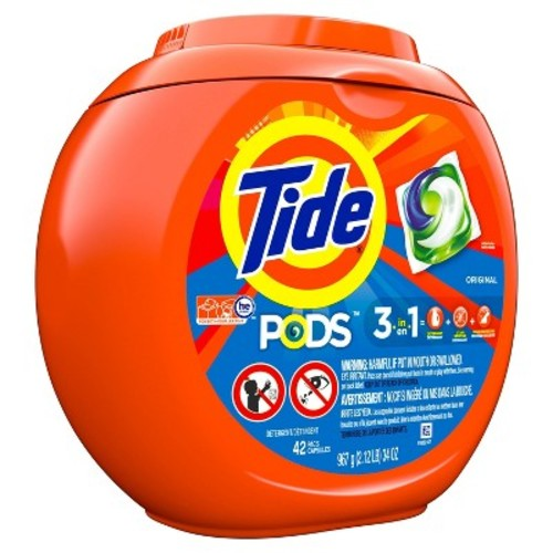 Tide Pods 42 count Original Laundry Detergent Pacs