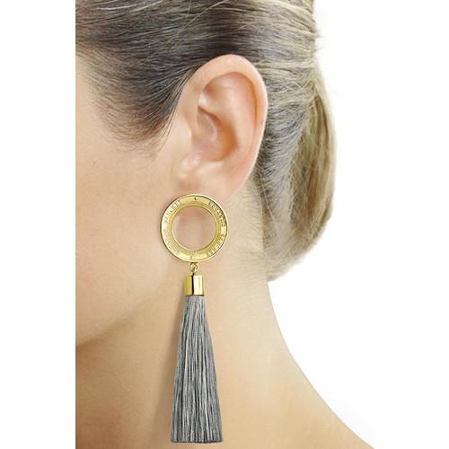 Tassel Gold Earrings