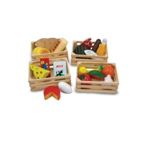 Melissa & Doug - Food Groups - Wooden Play Food