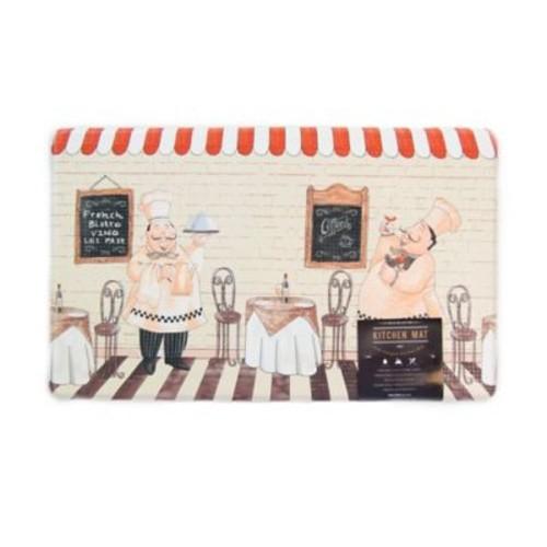 Great Bay Home Arlo Chefs 18-Inch x 30-Inch Anti-Fatigue Kitchen Mat