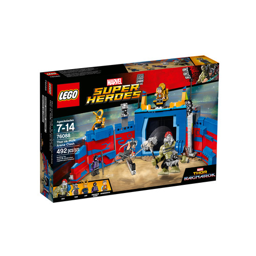 LEGO Marvel Super Heroes Thor vs. Hulk: Arena Clash #76088