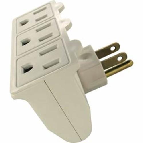 Shaxon PYF-58-3S 3-AC Outlet Power Adapter & it Swivels.