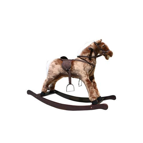 Plush Rocking Horse [Brown]