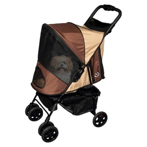 Pet Gear Happy Trails No-Zip Pet Stroller
