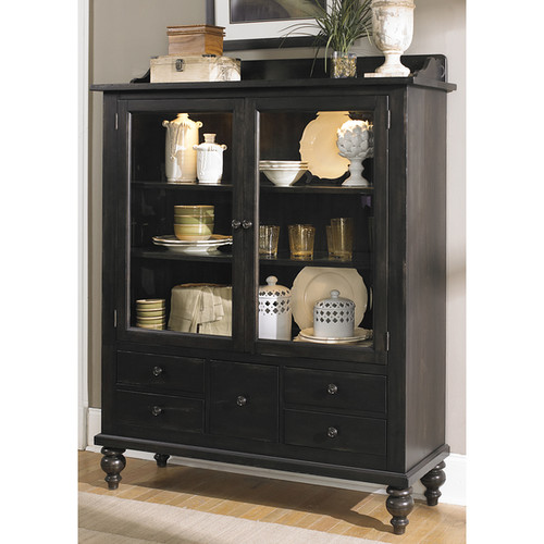 Liberty Buffets, Sideboards & China Cabinets Black Cherry Traditional Display Cabinet