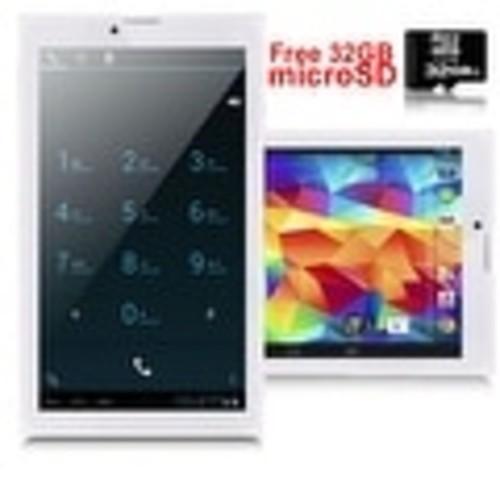 Indigi 3G Unlocked Android 4.4 Smartphone + TabletPC WiFi + Bluetooth Sync + Dual SIM w/ 32gb microSD included