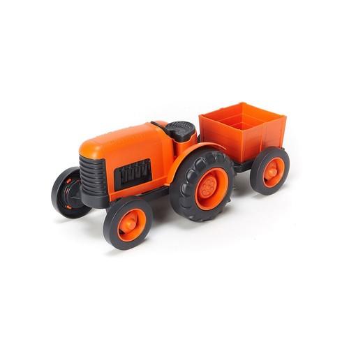 Green Toys Farm Tractor - Orange