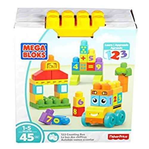 Mega Bloks Children's 123 Bus Building Kit