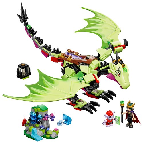 LEGO Elves The Goblin King's Evil DRAGON 41183 Building Kit (339 Pieces): Toys & Games