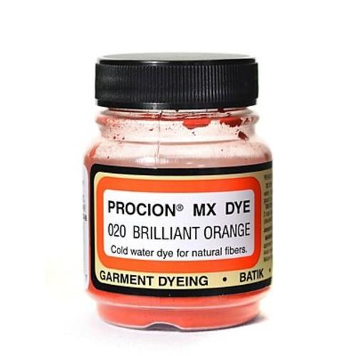 Jacquard Procion MX Fiber Reactive Dye brilliant orange 020 2/3 oz. [Pack of 3]