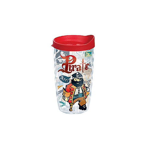 Tervis Pirate 10 oz. Wavy Tumbler with Lid