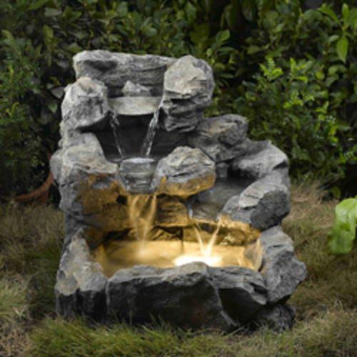 Small Rock Water Fountain